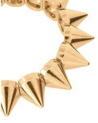ASOS | Metallic Asos Spike Stretch Bracelet | Lyst