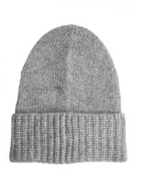 Closed | Gray Slouch Hat for Men | Lyst