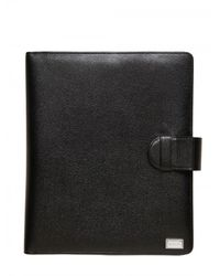Dolce & Gabbana | Black Belted Ipad Holder Fashion Extra for Men | Lyst