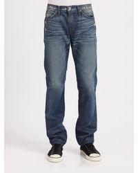 J Brand | Blue Slouchy, Taper-leg Jeans for Men | Lyst
