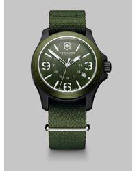 Victorinox | Green Original 40mm Nylon Strap Watch for Men | Lyst