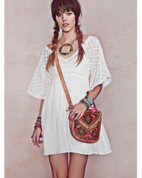 Free People - Multicolor Henley Dress - Lyst