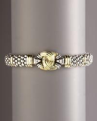 Lagos | Metallic Oval Knot Rope Bracelet | Lyst
