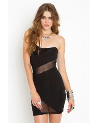 Nasty Gal | Black Slasher Mesh Dress | Lyst