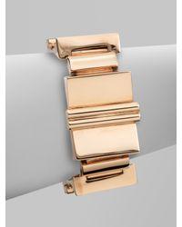 Ca&Lou - Metallic Diana Chunky Link Bracelet - Lyst