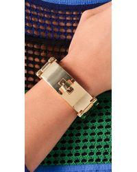 CC SKYE - Black Bel Air Bracelet - Lyst