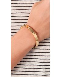 CC SKYE - Metallic Mini Spike Bracelet - Lyst