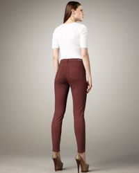 Citizens of Humanity - Purple Rocket Claret High-rise Skinny Jeans - Lyst