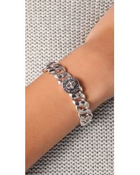 Marc By Marc Jacobs | Metallic Turnlock Small Katie Bracelet | Lyst
