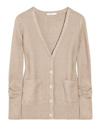 T By Alexander Wang | Natural French Terry-knit Cotton Sweatshirt | Lyst