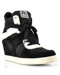 Ash | Gray Cool Black Velcro Sneaker | Lyst