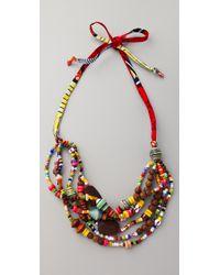 Bluma Project | Multicolor Kayah Necklace | Lyst