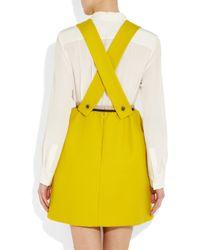 Carven - Yellow Cotton-twill Dress - Lyst