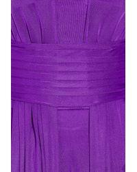 Issa - Purple Silk-chiffon Gown - Lyst