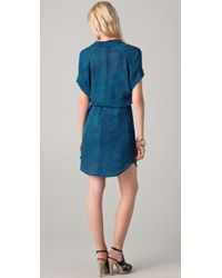 Obakki - Blue Berlin Shirtdress - Lyst