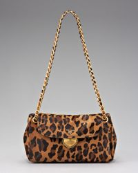 Prada - Multicolor Cavallino Leopard-print Hair Calf Chain Bag - Lyst