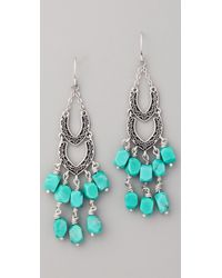 Club Monaco | Blue Tyler Turquoise Earrings | Lyst