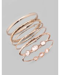 Ippolita | Metallic Diamond, 18k Gold & Sterling Silver Bracelet | Lyst