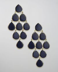 Ippolita | Blue Lapis Cascade Earrings | Lyst
