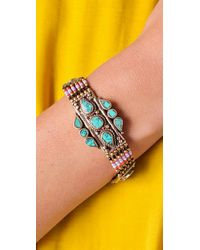 Vanessa Mooney - Pink Large Moonshield Bracelet - Lyst