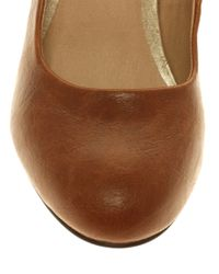 ASOS | Brown Asos Scala Court Shoe | Lyst