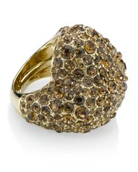 Marc By Marc Jacobs | Gray Pavé Heart Ring | Lyst
