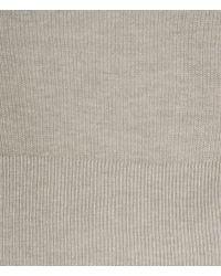 AllSaints - Gray Hitch Cardigan for Men - Lyst