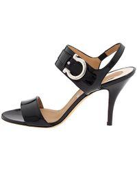 Ferragamo - Black Sandals Brianna Strappy - Lyst
