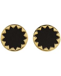 House of Harlow 1960 | Metallic Sunburst Button Earrings | Lyst