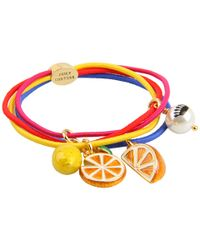Juicy Couture - Multicolor Fruit Multi Thin Elastic - Lyst
