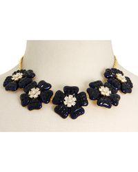 Kate Spade | Black Carroll Gardens Short Necklace | Lyst