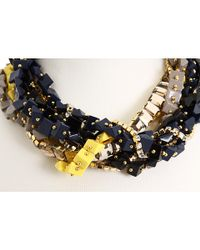 kate spade new york - Multicolor Squared Away Necklace - Lyst