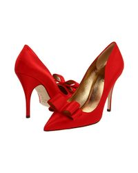 kate spade new york | Red Latrice Pump | Lyst