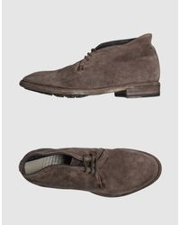 Officine Creative - Brown High Top Dress Shoes for Men - Lyst