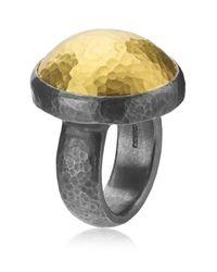 Gurhan | Metallic Amulet Edge Ring | Lyst