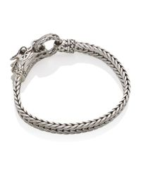 John Hardy - Metallic Naga Lava Dragon Bracelet - Lyst