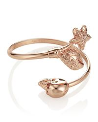Alexander McQueen | Pink Skull & Claw Bracelet | Lyst