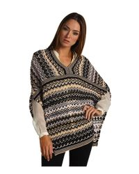 Missoni | Multicolor Fringed Metallic Crochet-knit Wrap | Lyst