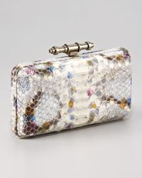 Givenchy | Multicolor Python Obsedia Minaudière Clutch | Lyst