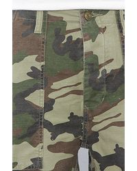 Obey - Green Recon Cargo Shorts for Men - Lyst