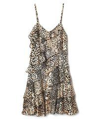 Rachel Zoe | Multicolor Kylie Asymmetrical Ruffle Dress | Lyst