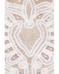 Alexander McQueen   Pink Crochet-embroidered Silk-organza Dress   Lyst