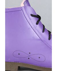 Jeffrey Campbell - The Rainy Day Boot in Purple - Lyst