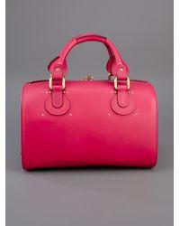 Chloé   Pink Aurore Duffel Bag   Lyst