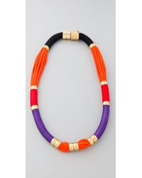 Holst + Lee | Multicolor Long Colorblock Necklace | Lyst