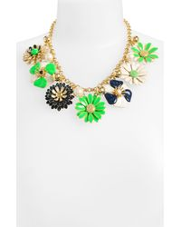 kate spade new york | Multicolor Posey Park Statement Necklace | Lyst