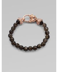 Stephen Webster | Pink Smoky Quartz and Rose Quartz Bracelet | Lyst
