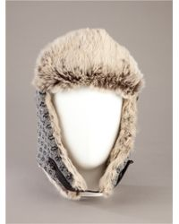 Woolrich - Gray Glacier Hat for Men - Lyst