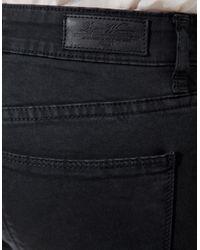 Zara | Gray Trousers with Zip Hem | Lyst