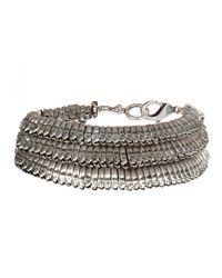 AllSaints | Metallic Sabian Bracelet | Lyst